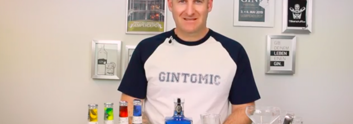 Ein colour-changing Gin